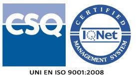 logo di cerificazione ISO - Envel srl