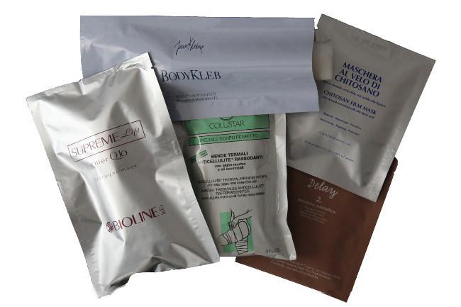 bustine per prodotti solidi - fazzolettini, bende e garze